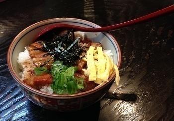 焼き豚丼(ミニ)