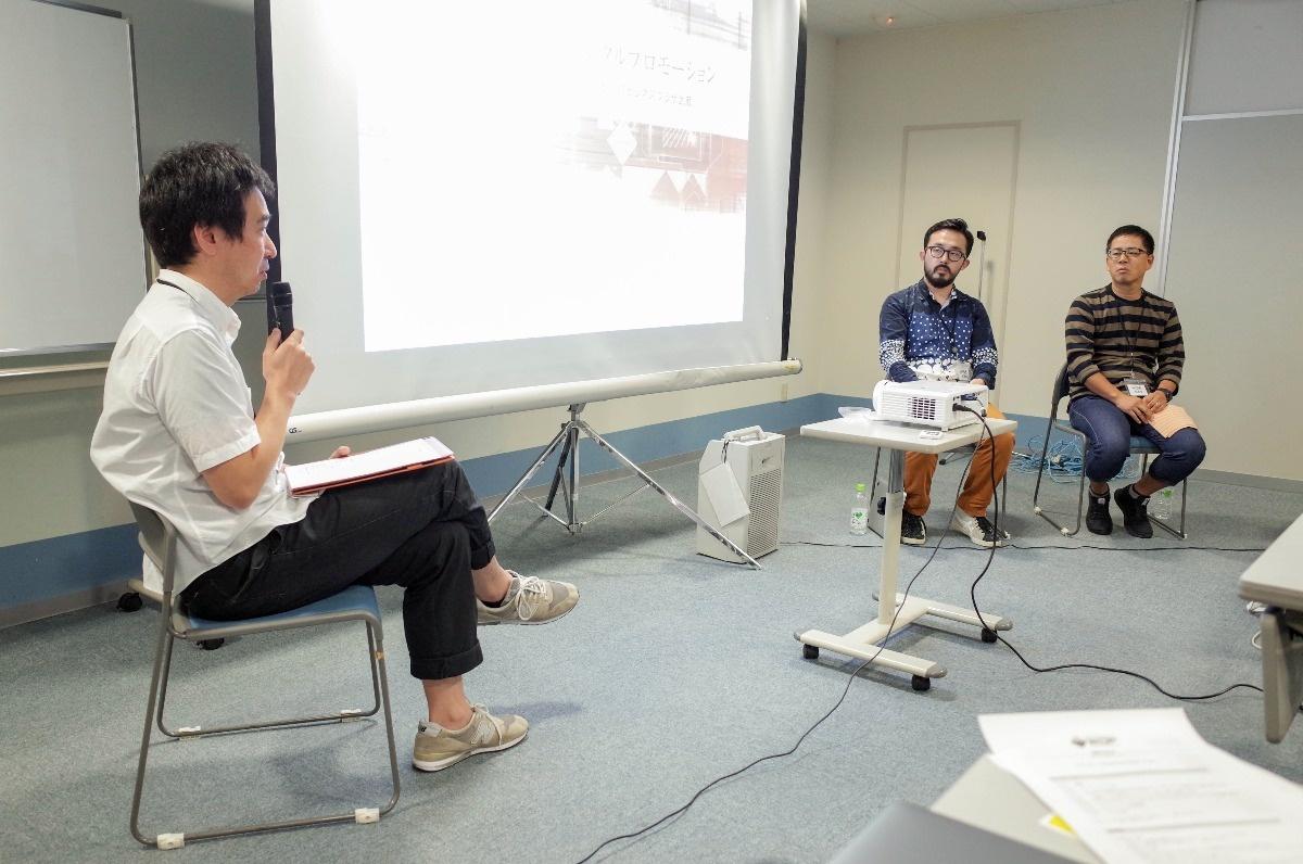 パネルディスカッション「ブランディングとデジタルプロモーション」、モデレータは坂野 徹さん